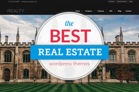 43 best responsive real estate themes 2018
