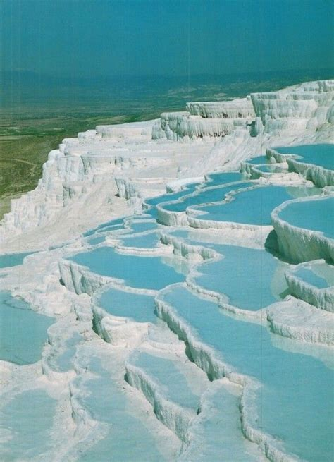 pamukkale turkey pamukkale turkey hot springs zeus pinterest