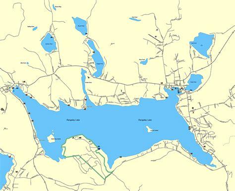 lakes map lakes in maine map kansas map