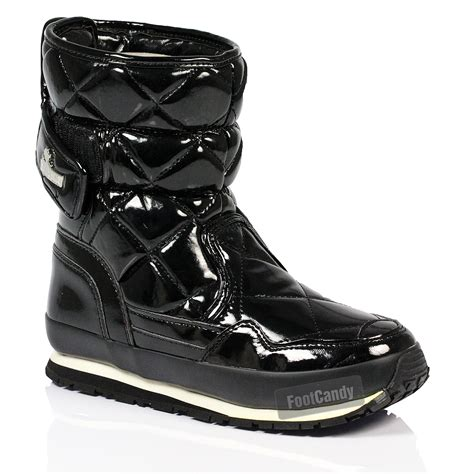 rubber duck boots womens rubber duck winter sporty snow joggers quilted