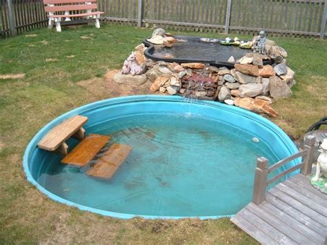 backyard dog pool dog pond new pic s ponds aquatic plants forum
