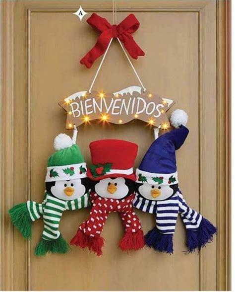 imagenes navidad pinterest adornos para puerta de navidad con moldes gratis