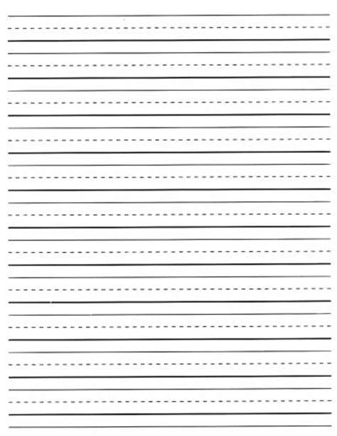 second grade lined writing paper free lined writing paper for grade 2
