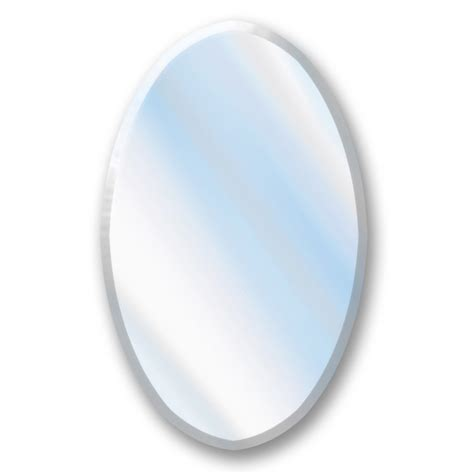 oval mirror medicine cabinet recessed shop american pride 21 25 in x 31 25 in oval recessed