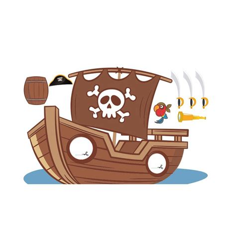 barco pirata photocall barco pirata 2 95 215 1 55m photocall xxl