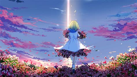 spring anime girl wallpapers hd wallpapers id