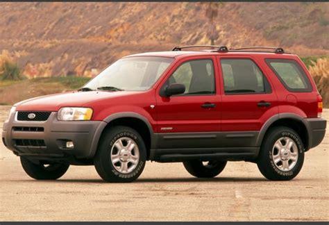 2001 Ford Escape used ford escape review 2001 2006 carsguide