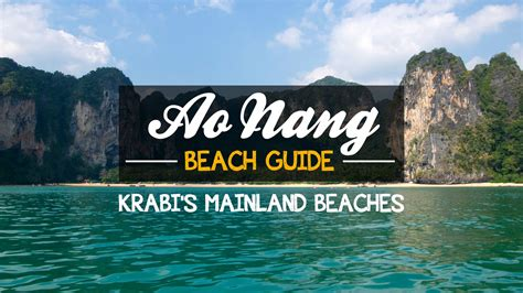 Most Beautiful Places In America by Ao Nang Beach Guide Krabi S Mainland Beaches Travel