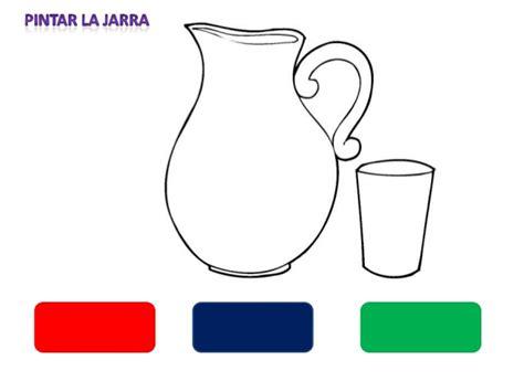 imagenes para colorear jarra jarra para pintar imagui
