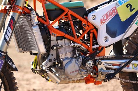 A Frame Kit House by Serial Winner Ktm 450 Rally Ktm Blog