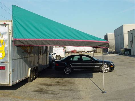 car trailer awnings 1999 other trailer canopy awning large picture page