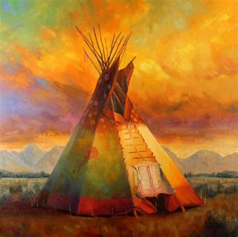 Acrylic Tipis 96 best images about american on