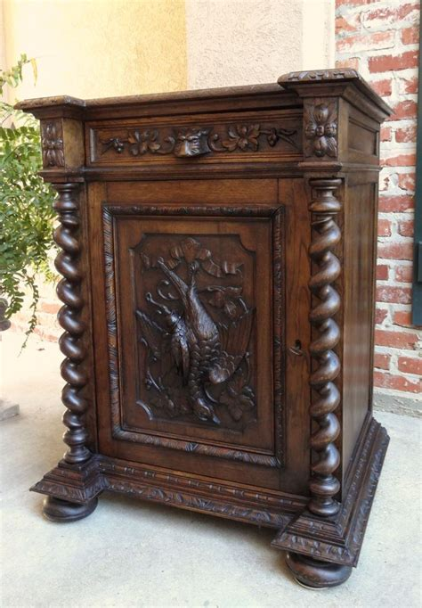 Antique Bar Cabinet Furniture 17 Best Images About Antique Black Forest Carved Treasures On Pinterest Horns And