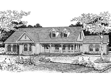 Victorian Ranch House Plans | victorian country ranch home plan 016d 0019 house plans