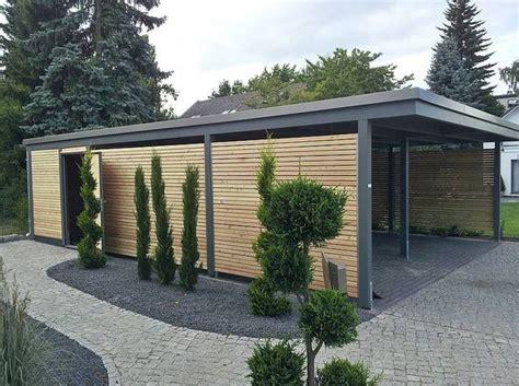 carport lärche bausatz rhombuslattung aus l 228 rche house design
