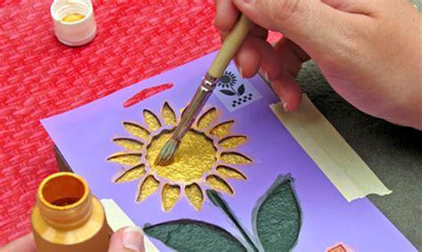 make greetings cards various ways to create remarkable stencil designs naldz