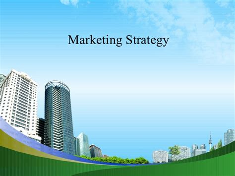 Mba In Strategy Vs Marketing by Marketing Strategy Mba Ppt