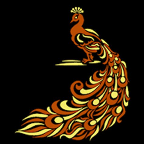 peacock stoneykins pumpkin carving patterns and stencils