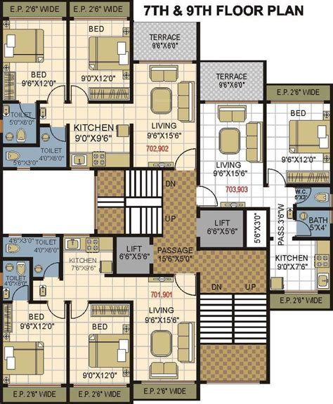 phoenix west ii floor plans 900 sq ft 2 bhk 2t apartment for sale in phoenix