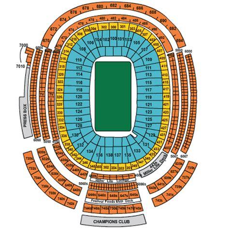 green bay packers seating chart green bay packers vs minnesota vikings november 24 tickets