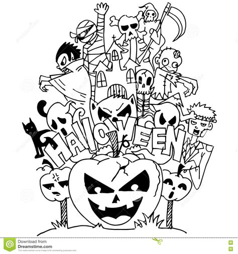 doodle ghost coloring pages animals coloring pages for adults