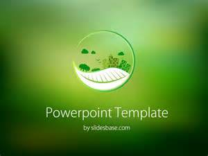 eco powerpoint template slidesbase