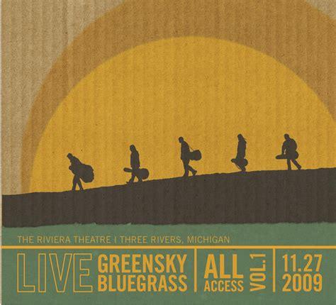 bluegrass today greensky bluegrass double live cd bluegrass today