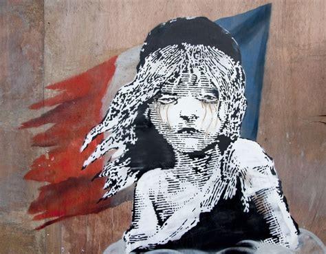 banksy street art stencil les miserables knightsbridge