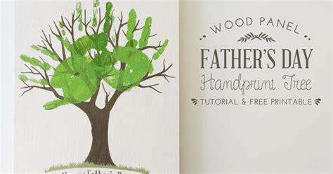 3 handprints tree s day gift idea handprint tree free printable creative after