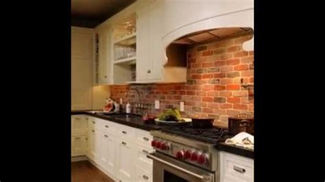 brick backsplash kitchen elegant brick as kitchen backsplash ideas 2015 youtube