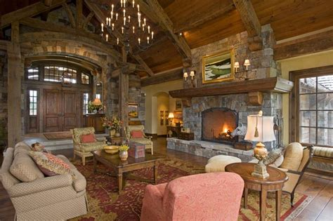rustic great rooms great room home ideas rustic