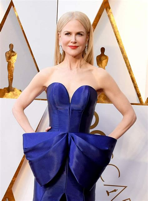 Emma Watson Vanity Fair Nicole Kidman At The 90th Annual Academy Awards In Los
