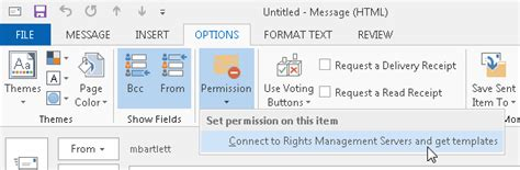 using outlook templates to send emails of a frequent type saco media