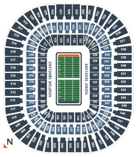 bank of america stadium seating chart carolina panthers seating chart at bank of america stadium