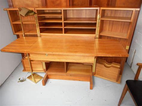 danish desk in a box mid century danish modern teak desk in a box folding