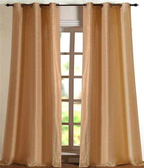 curtains for 9 ft wide window deco window curtain solid hangama light beige 9 ft door