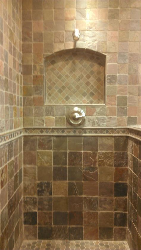Slate Bathroom Ideas Best 25 Slate Shower Ideas On Pinterest Slate Shower Tile Shower And Slate Bathroom