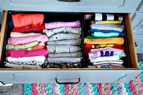 T Shirt Drawer Organization by How To Organize Dresser Drawers Like A Professional