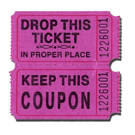 color purple tickets the gallery for gt purple raffle tickets