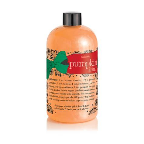 philosophy pumpkin icing shampoo shower gel  bubble