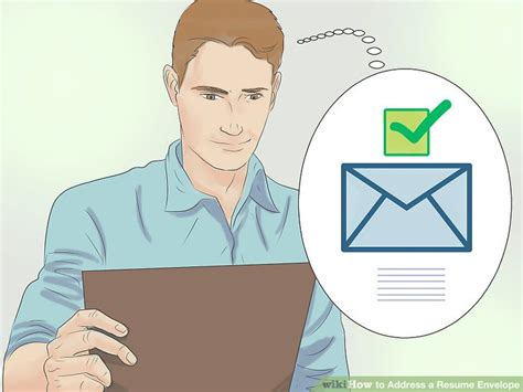 Resume Envelope by How To Address A Resume Envelope With Exles Wikihow