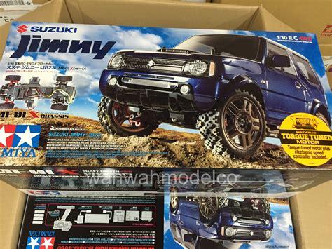Tamiya Shoo tamiya 58614 1 10 suzuki jimny jb23 mf 01x car kit w esc wah wah model shop