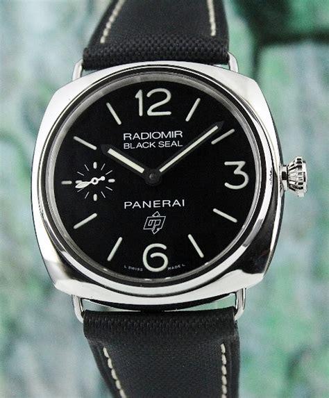 black seal series panerai 45 mm radiomir black seal logo pam 380 o series
