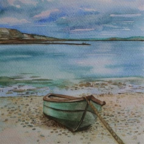 how to draw a beached boat 78 best images about canvas creations on pinterest