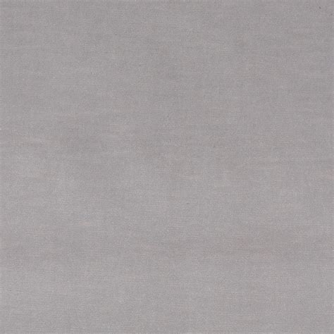 Light Grey Plush Elegant Cotton Velvet Upholstery Fabric