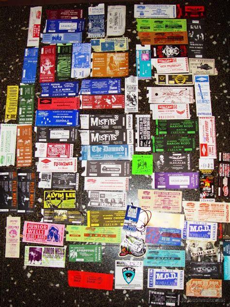 vender entradas de conciertos lote de 80 entradas de coleccion de conciertos comprar
