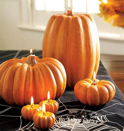 Pumpkin Candle Pumpkin Candles The Green
