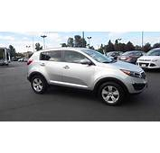 2011 Kia Sportage Bright Silver Metallic  STOCK 731051