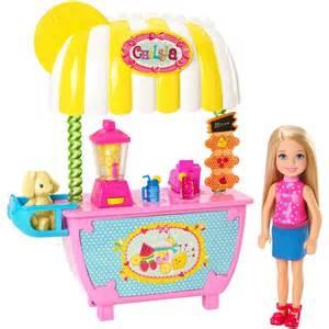 Barbie chelsea and lemonade stand barbie uk