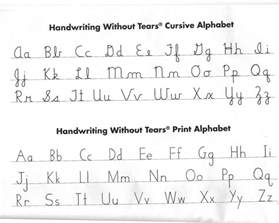 Handwriting Without Tears Letter Templates Hart County Schools